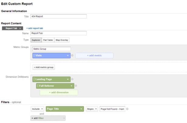 posicionamiento en buscadores informe paginas devuelven 404