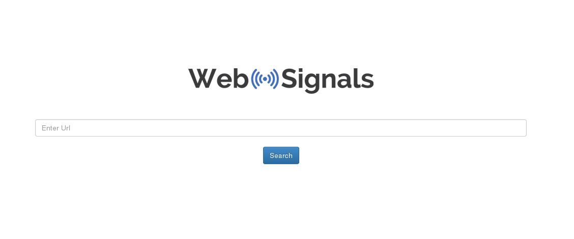 Herramienta Posicionamiento web SEO WebSignals.com