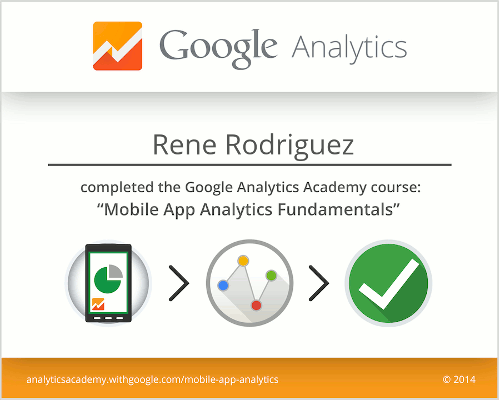 Mobile App Analytics Fundamentals Rene Rodriguez