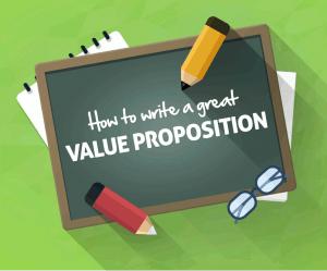 Cómo escribir una gran propuesta de valor