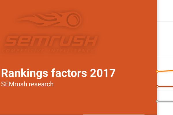 Factores SEO de ranking en Google 2017